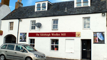 The Edinburgh Woolen Mill shop