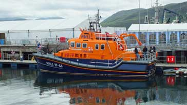 Lifeboat in Ullapool Harbour