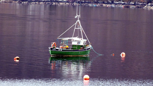 Ullapool fishing vessel UL16